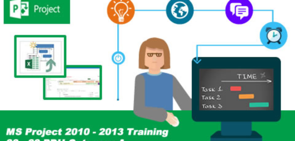 TRAINING PROJECT MANAGEMENT WITH MS PROJECT