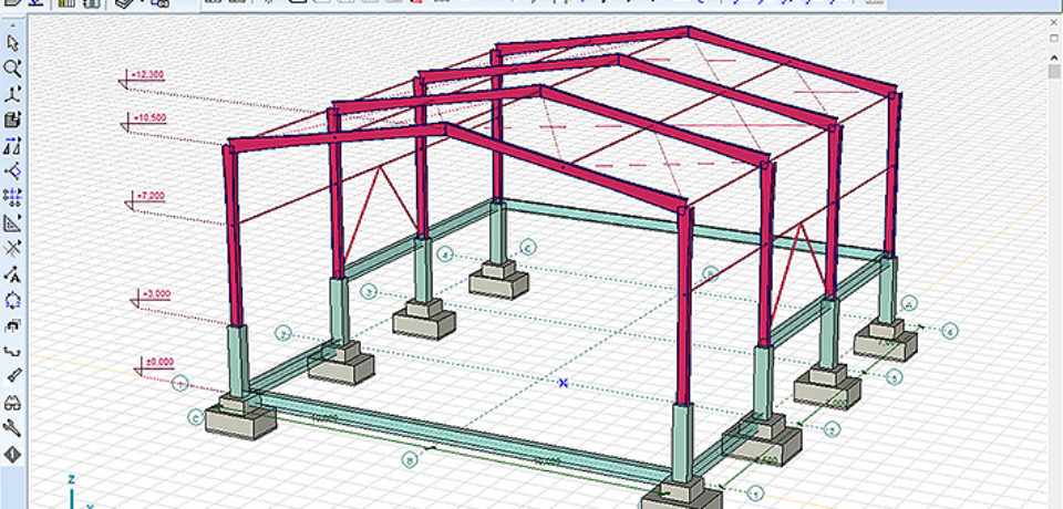 Training TEKLA For Analysist Structure