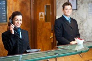 Training Profesional Receptionist & Operation