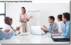 jadwal training cost estimation project