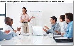 jadwal training manajemen proyek fundamental