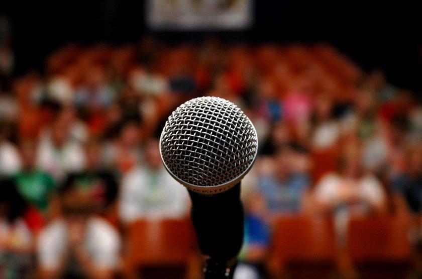 training public speaking