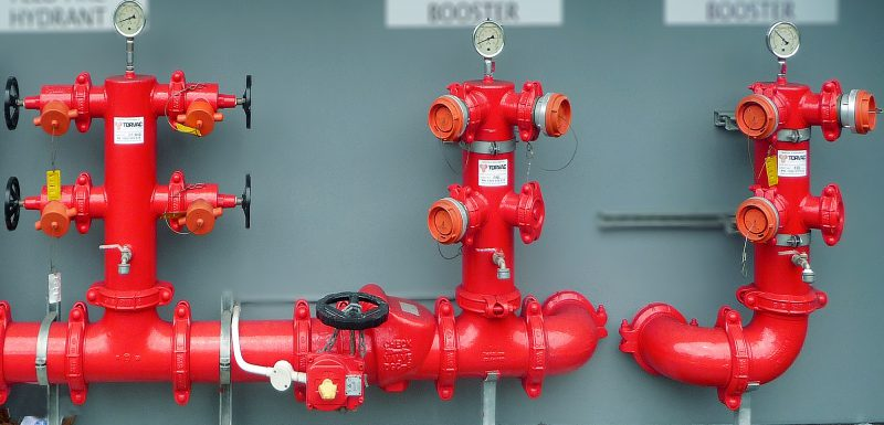 Training Plumbing System And Hydrant